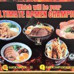 【日本のソウルフード】シンガポールで旨いラーメン食べるなら!【Ramen Champion】