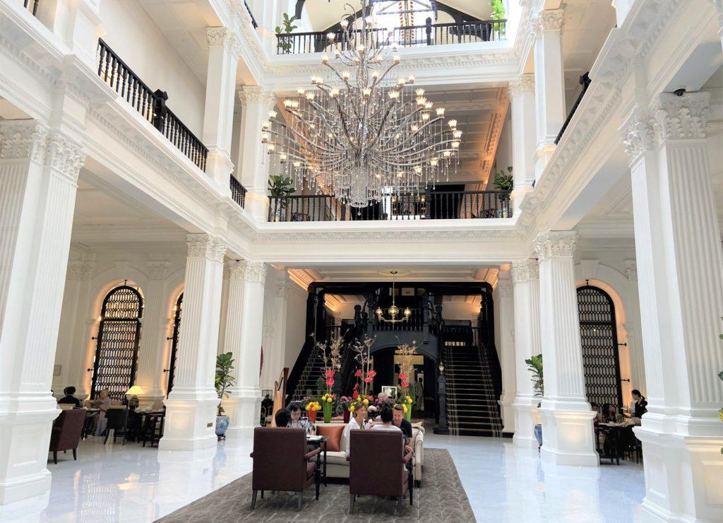 Raffles Hotel Grand Lobby